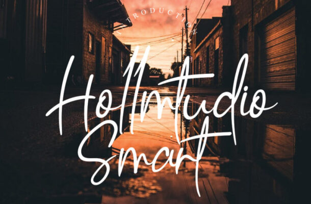Hollmtudio Handwritten Font
