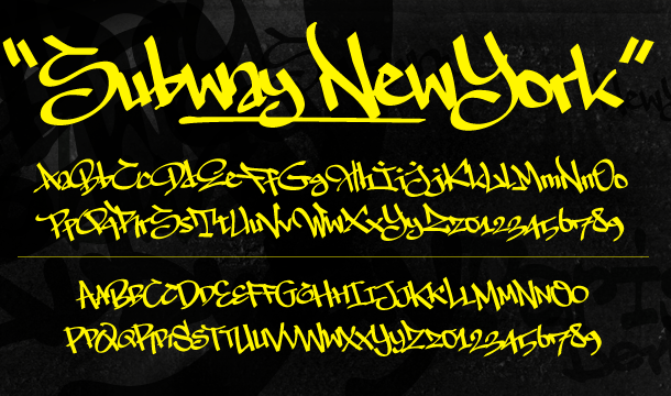 The Subway Types Font
