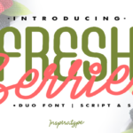 Fresh Berries Font