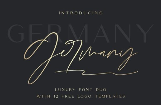 Germany Luxury Font