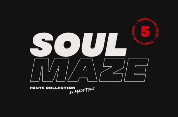 MADE Soulmaze Font